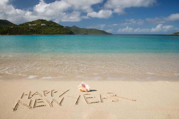 new-year-beach
